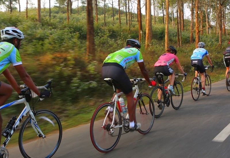 Cycling in Nilgiris